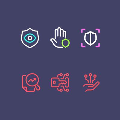 SOCRadar icons
